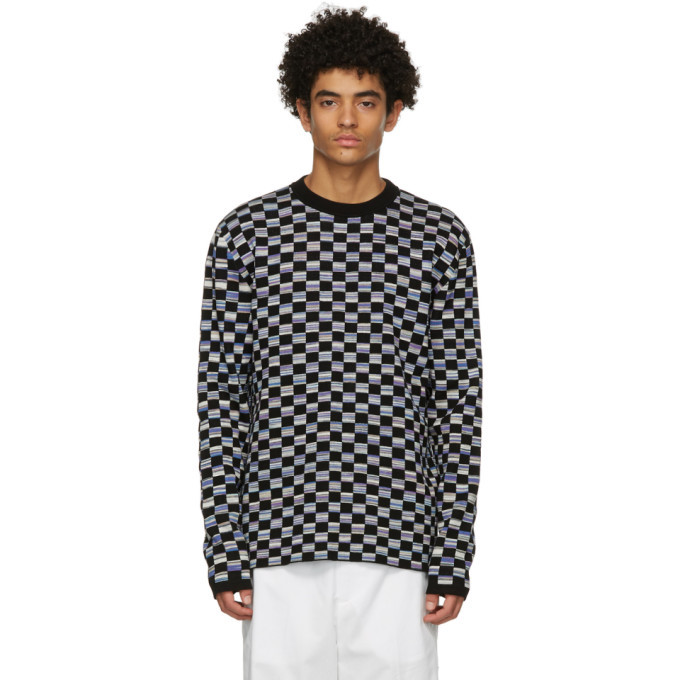 Photo: Marni Black Ombre Check Sweater