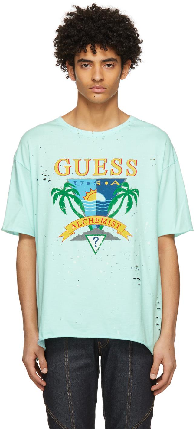 Photo: Alchemist Blue Guess Edition Logo T-Shirt