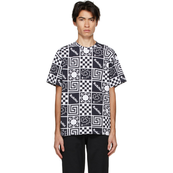 Photo: Rassvet Multicolor Allover Logo T-Shirt
