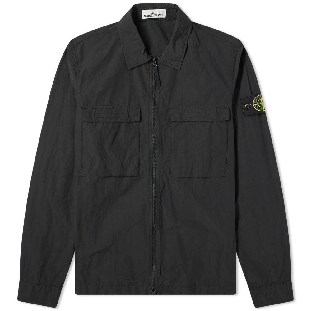 Photo: Stone Island Pocket Zip Overshirt