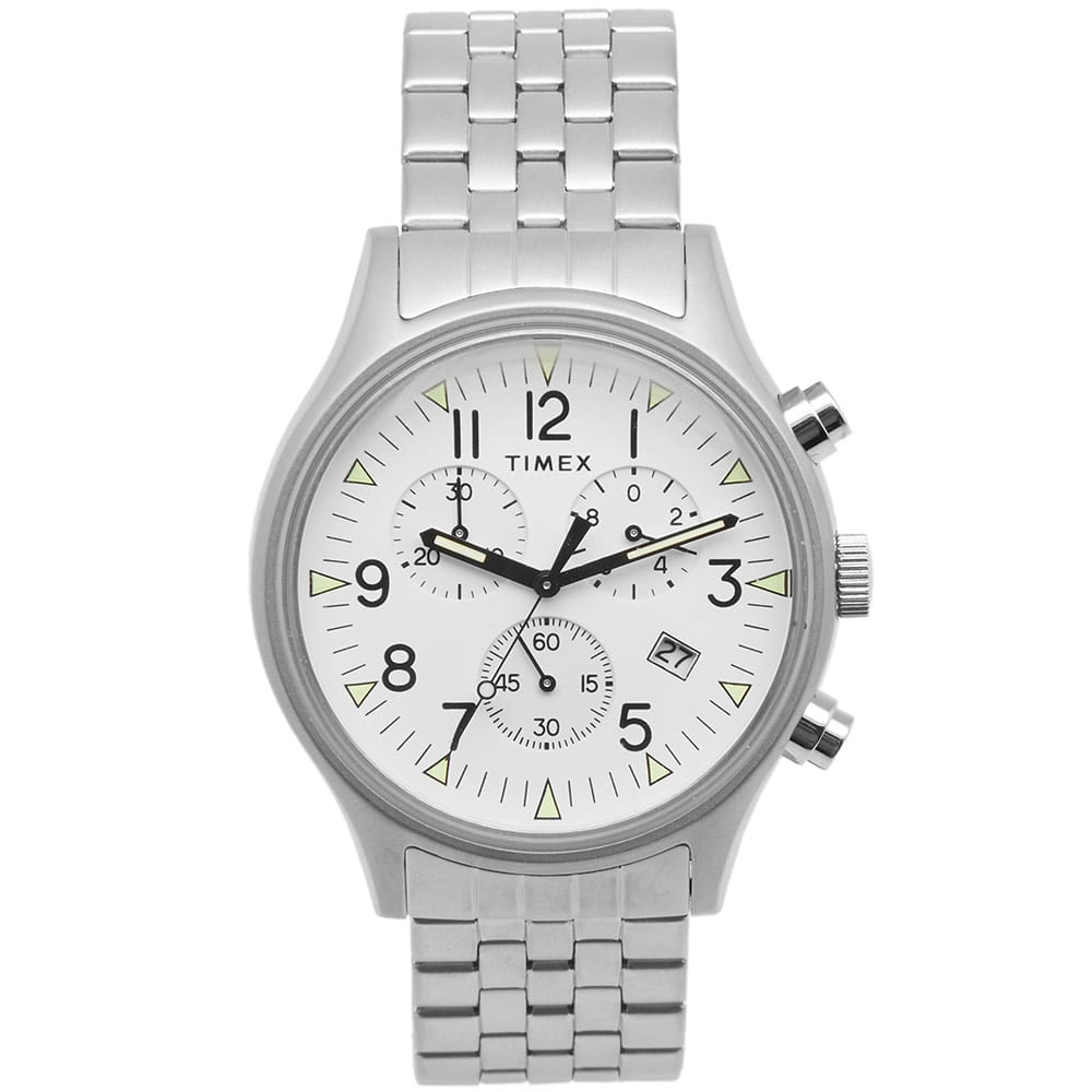 Photo: Timex MK1 SST Chronograph Bracelet Watch