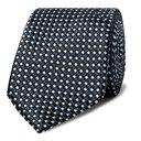 Giorgio Armani - 7cm Silk-Jacquard Tie - Midnight blue