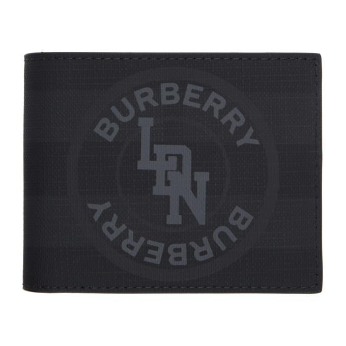 Photo: Burberry Grey London Check Wallet