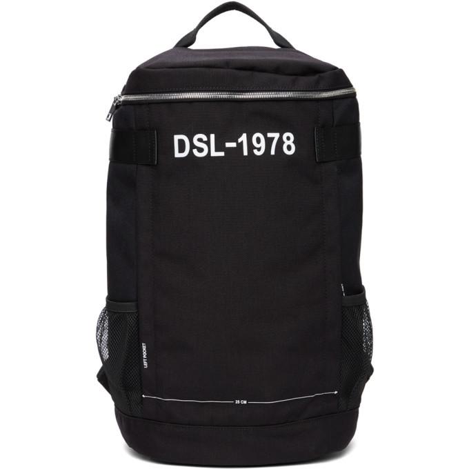 Photo: Diesel Black Urbhanity Pieve Backpack