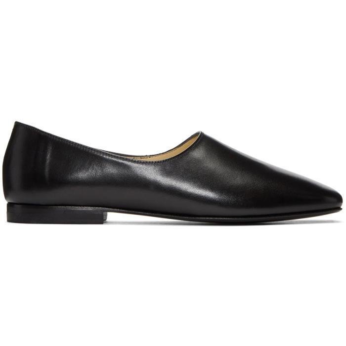 Photo: Lemaire Black Leather Loafers