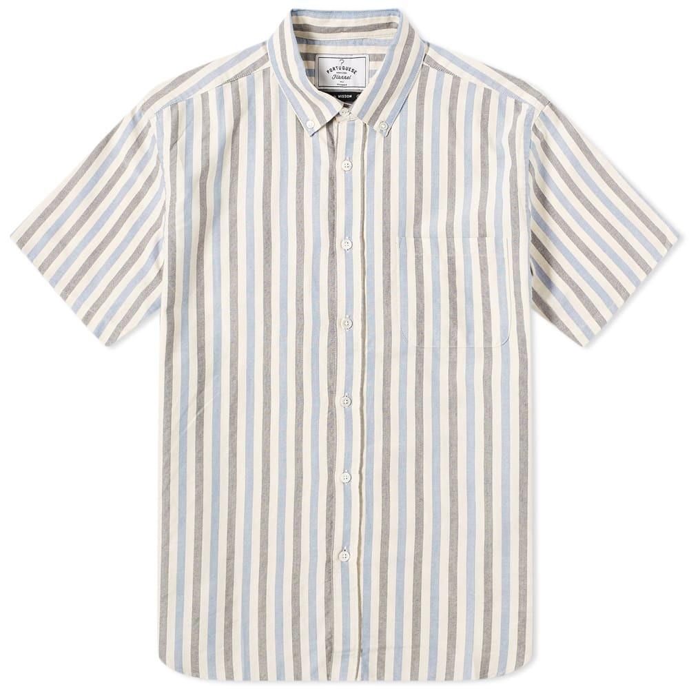 Photo: Portuguese Flannel Sleeve Short Long Island Shirt