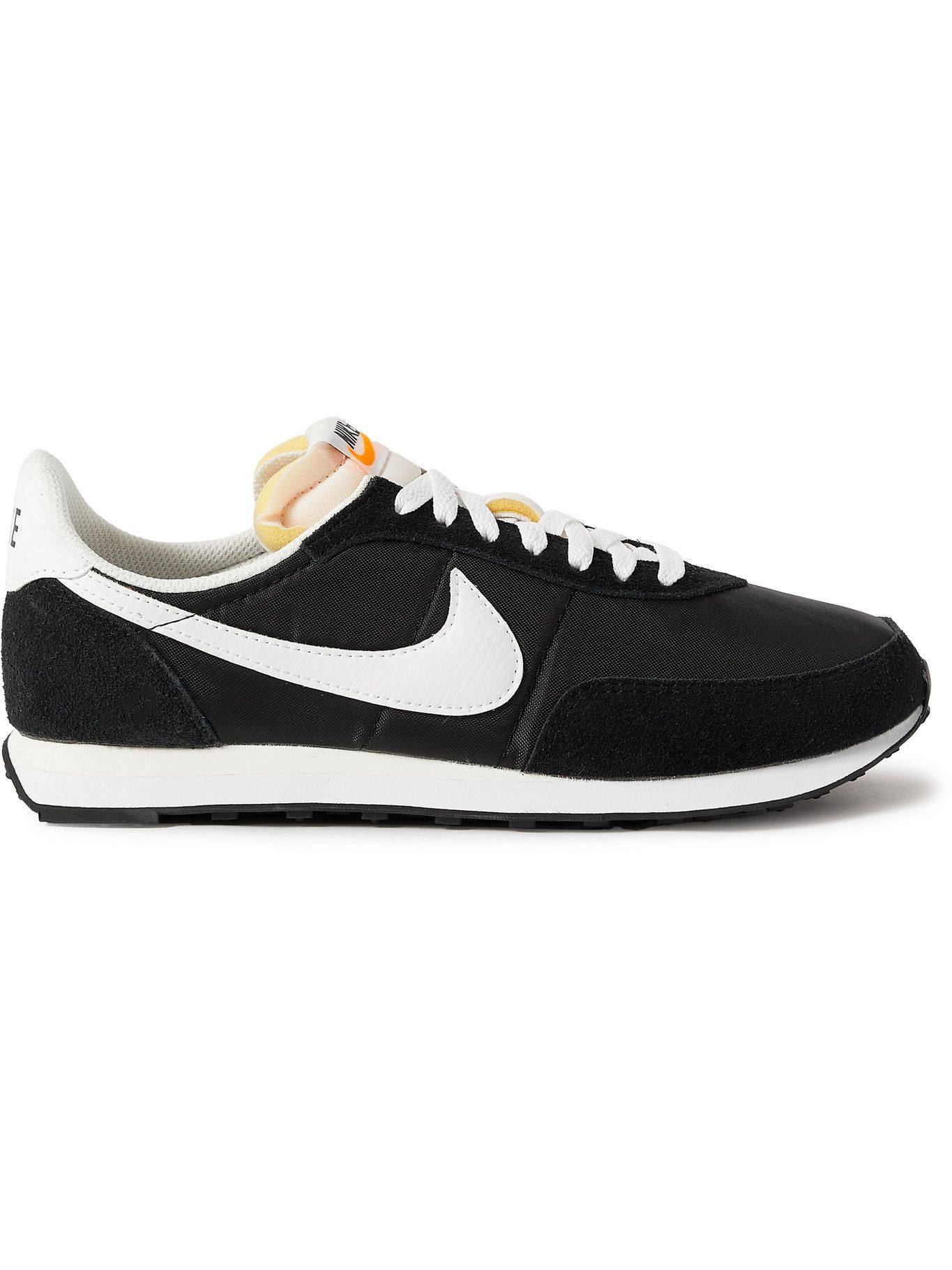 Photo: Nike - Waffle 2 SP Leather and Suede-Trimmed Nylon Sneakers - Black