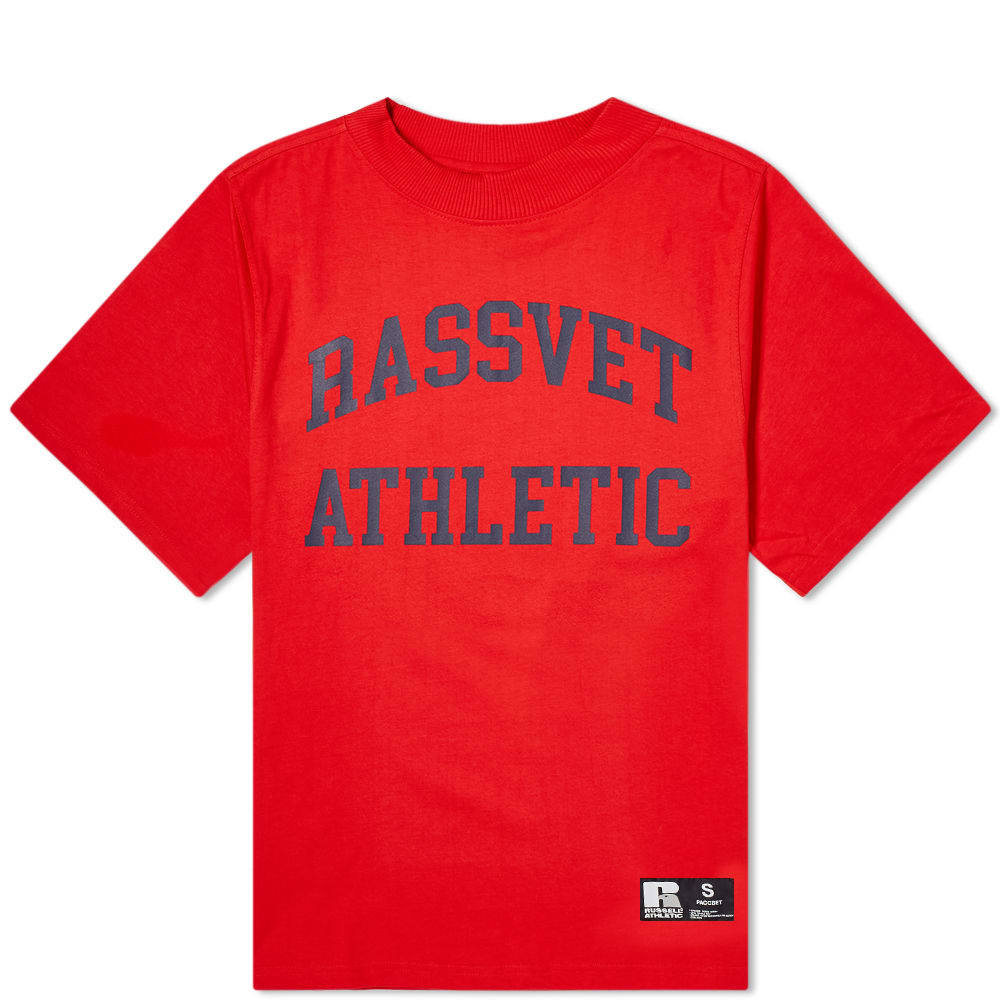 Photo: PACCBET x Russell Athletic Tee Red