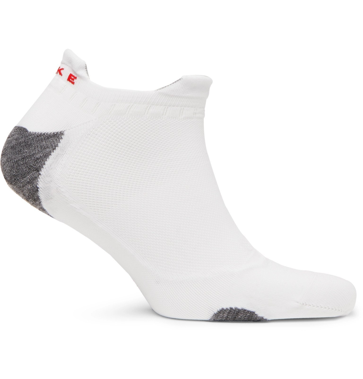 Photo: FALKE Ergonomic Sport System - RU5 Stretch-Knit No-Show Socks - White