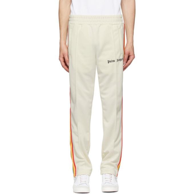 Photo: Palm Angels Off-White Rainbow Track Pants