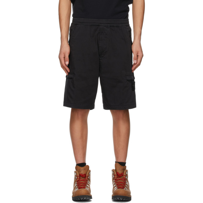 Stone Island Black Ghost Piece Shorts