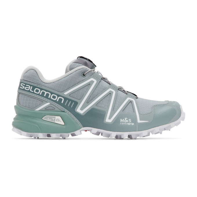 Photo: Salomon Grey Limited Edition Speedcross 3 ADV Sneakers