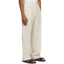 Botter Off-White Classic Pleat Trousers