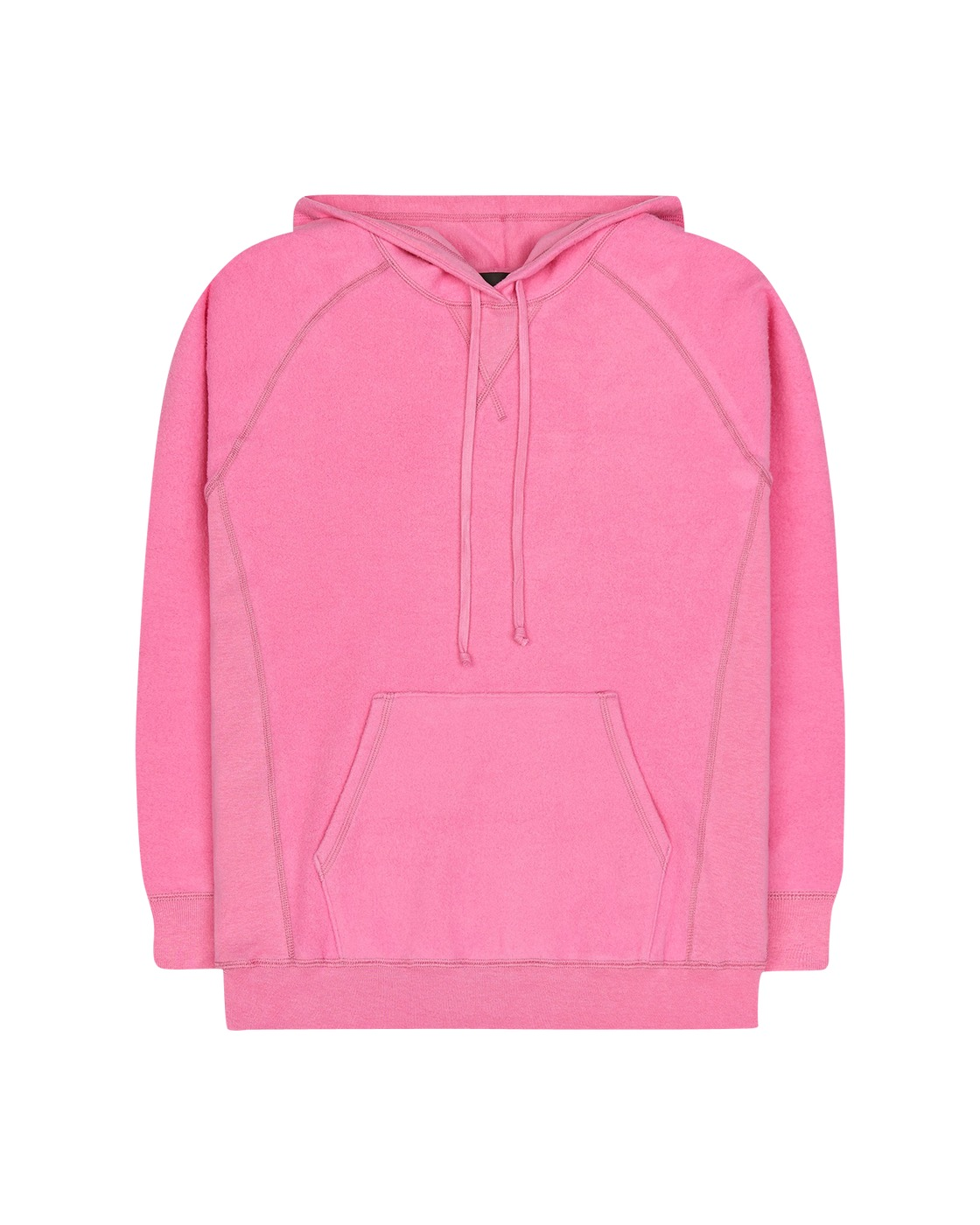 Photo: Bianca Chandon Reverse Fleece Sweatshirt Pink
