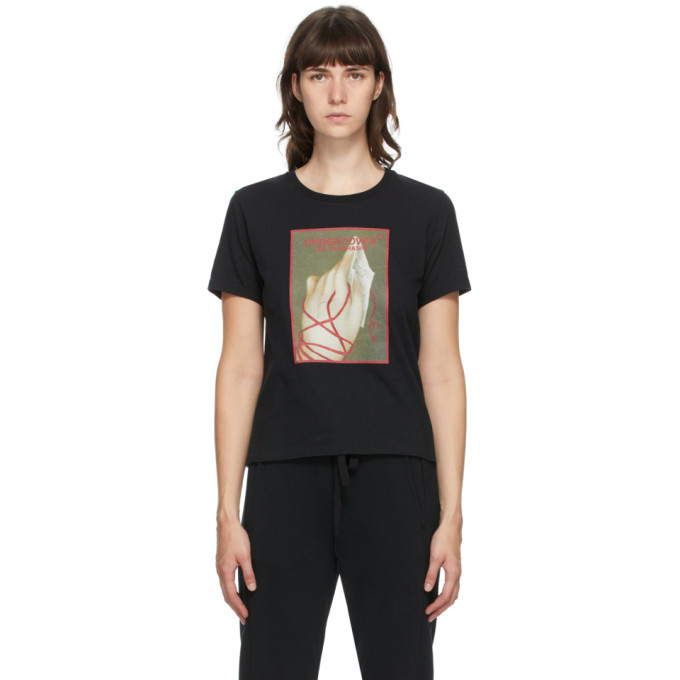 Photo: Undercover Black Tied Hands Graphic T-Shirt