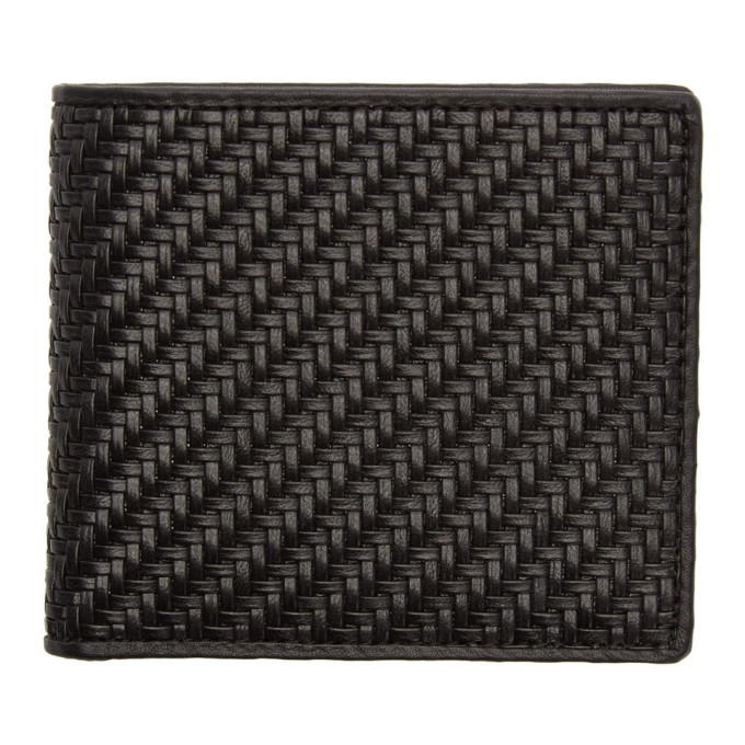 Photo: Ermenegildo Zegna Black Pelletessuta Wallet