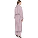 3.1 Phillip Lim Purple Oversized Trench Coat