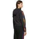 adidas Originals Black Cropped Half-Zip Adicolor Jacket