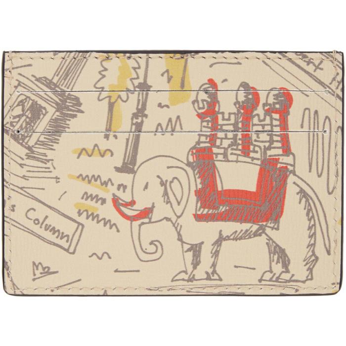 Photo: Burberry Beige Icon Print London Card Holder