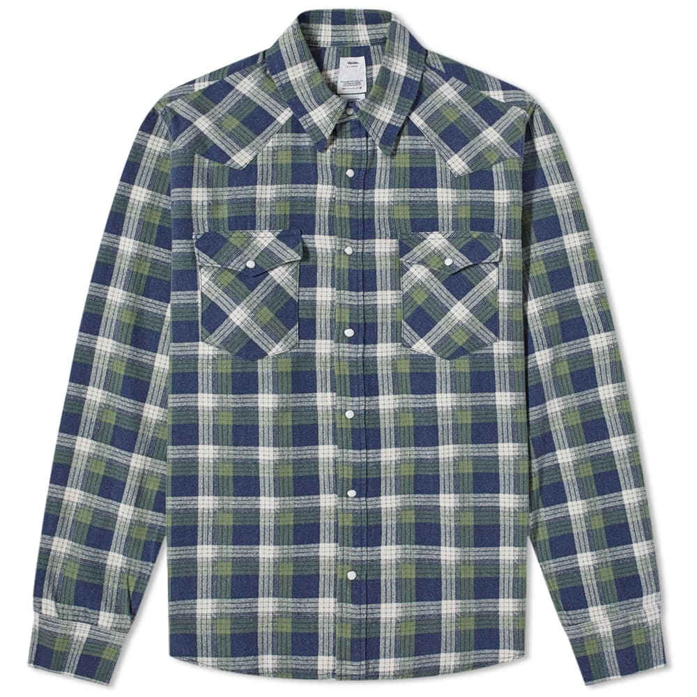 Photo: Visvim Bandito Check Shirt