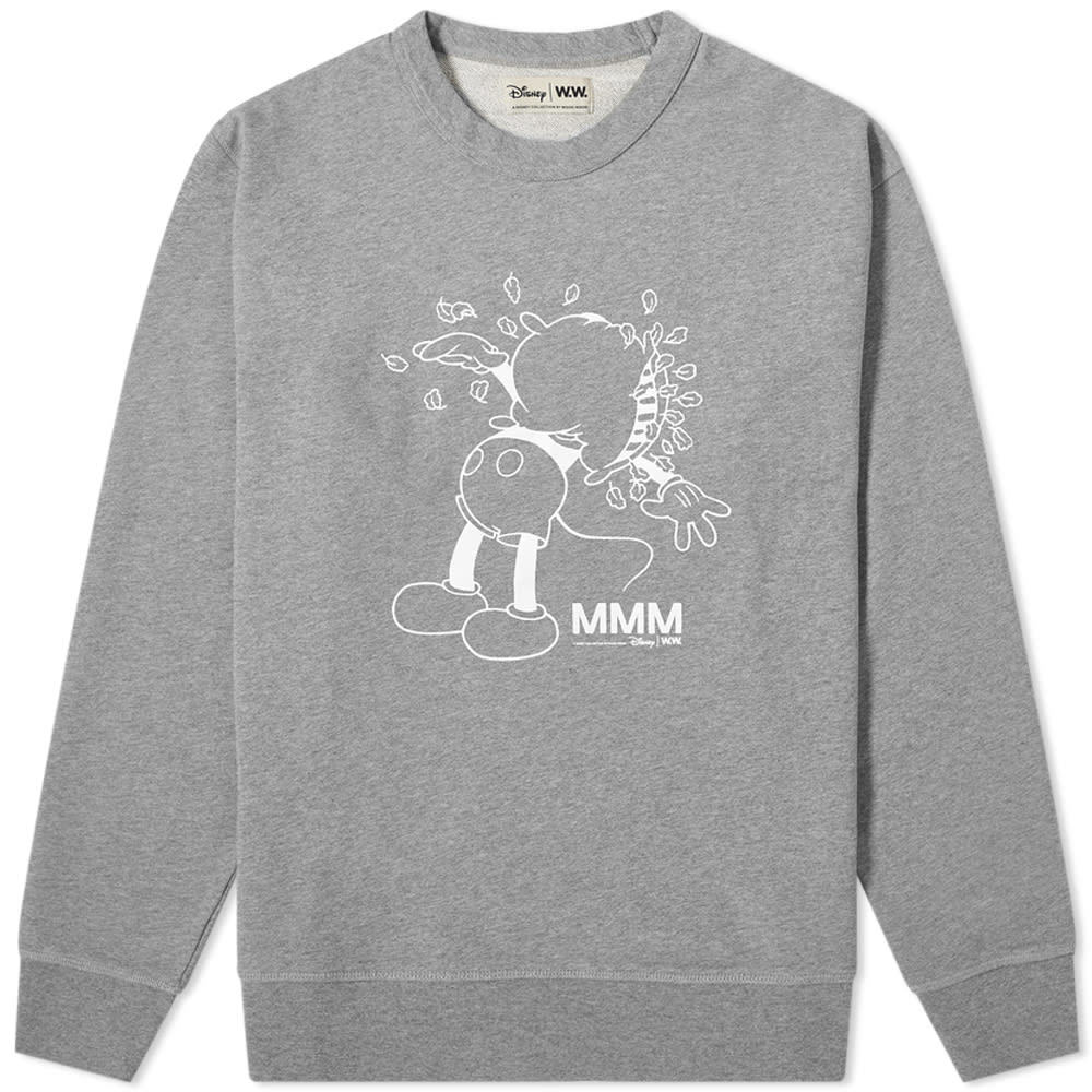 Photo: Wood Wood x Disney Hugo Crew Sweat
