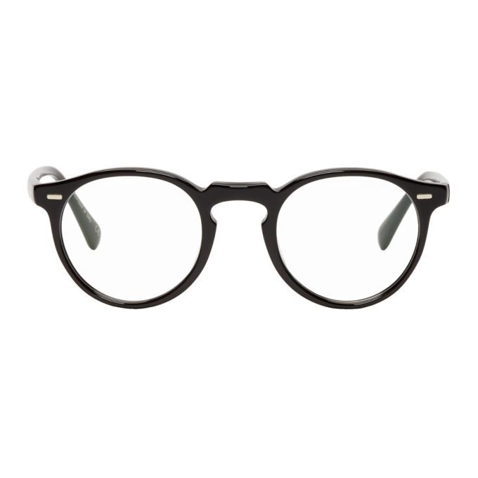 Oliver Peoples Black Gregory Peck Glasses