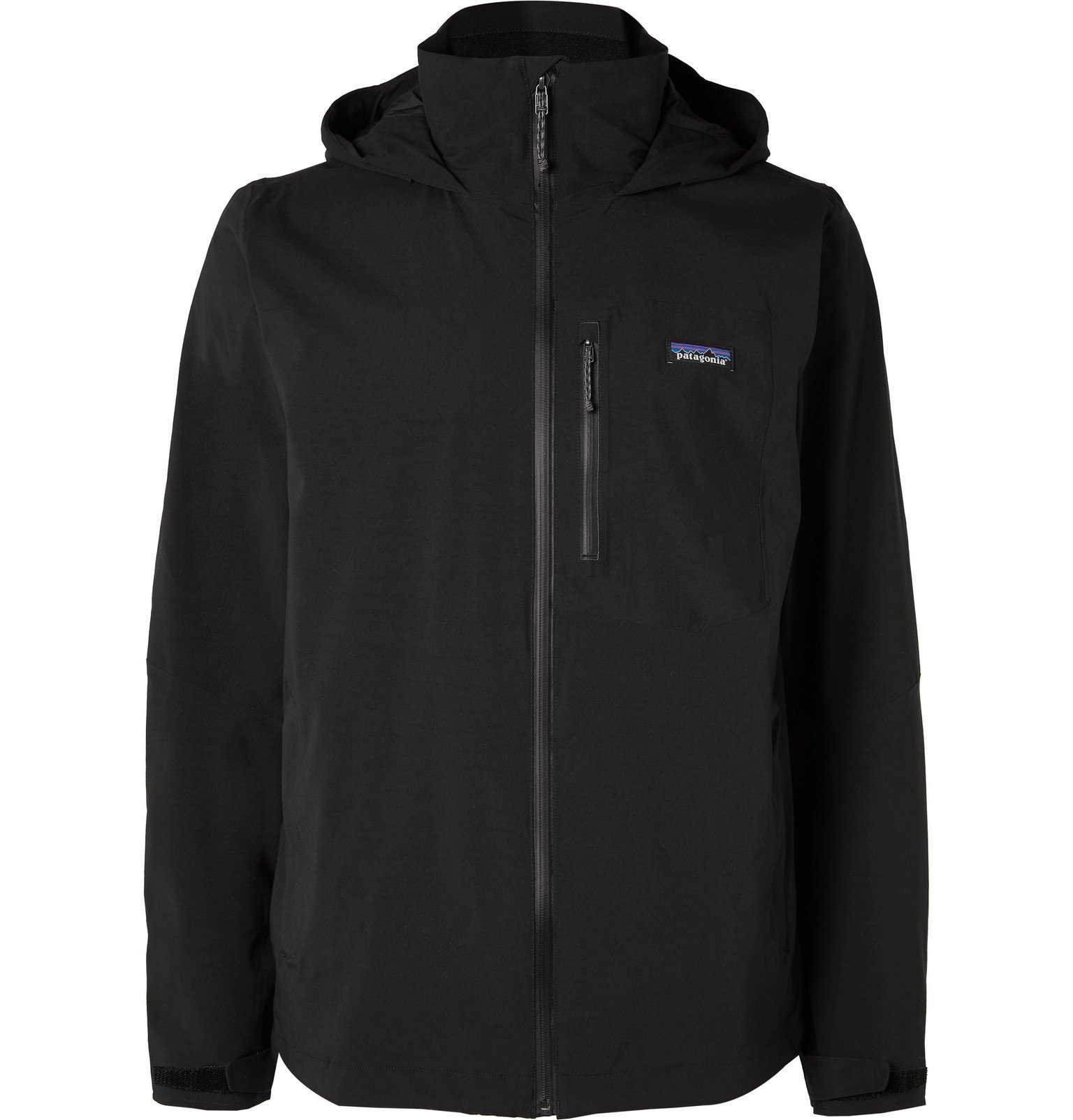 Photo: Patagonia - Quandary Waterproof Shell Hooded Jacket - Black