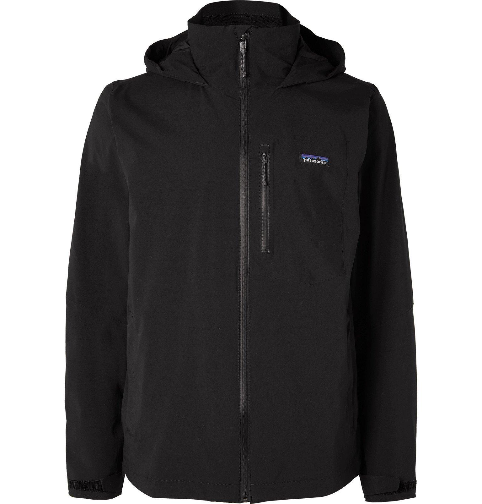 Photo: Patagonia - Quandary Waterproof Shell Hooded Jacket - Black