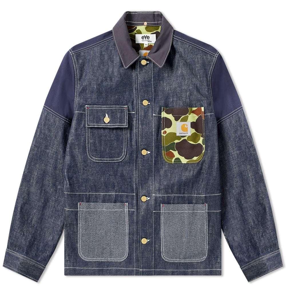 Photo: Junya Watanabe MAN eYe x Carhartt Customised Chore Jacket