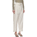 3.1 Phillip Lim White Belted Cargo Pants