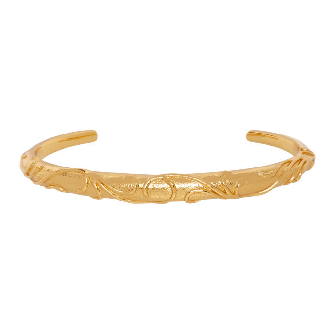 Photo: Dear Letterman Gold Aqal Bangle Bracelet