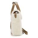 3.1 Phillip Lim Off-White Shearling Mini Pashli Satchel Bag
