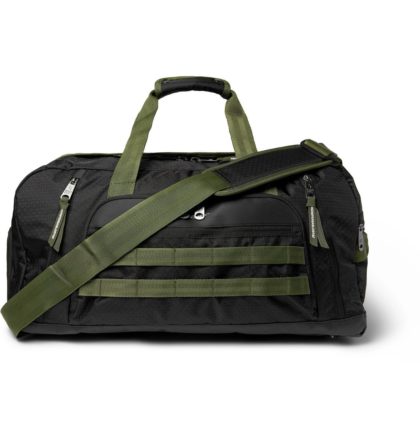 Photo: Indispensable - Jam-Pac Nylon-Ripstop Holdall - Black