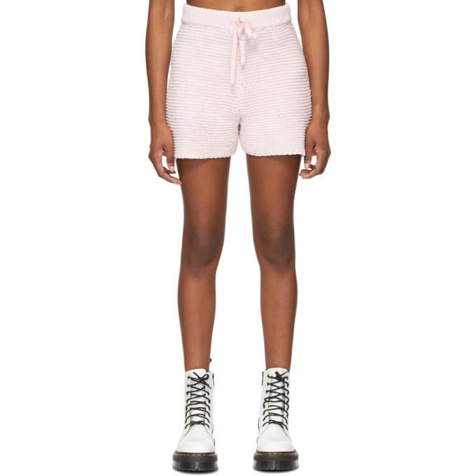 Photo: SJYP Pink Knit Shorts