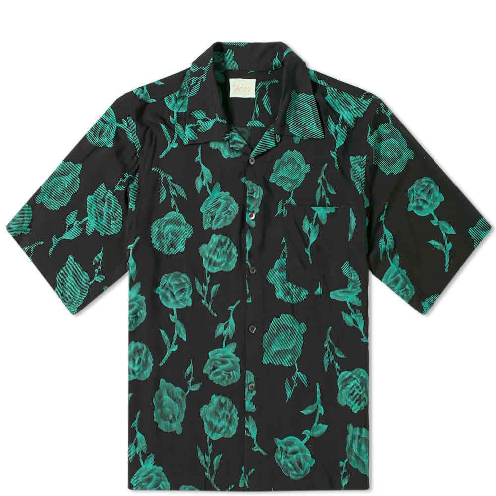 Aries Rose Bowling Shirt
