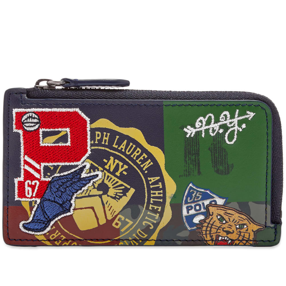 Photo: Polo Ralph Lauren Patchwork Zip Around Card Case