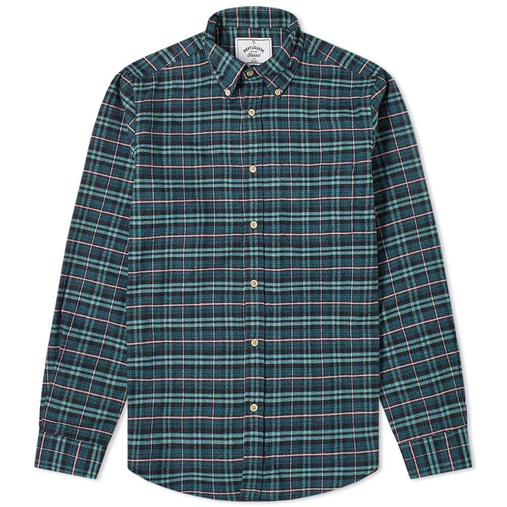 Photo: Portuguese Flannel Future Button Down Check Shirt