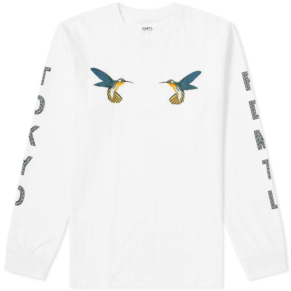 Photo: FDMTL Long Sleeve Hummingbird Tee