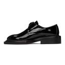 Martine Rose Black Patent Shoom Loafers
