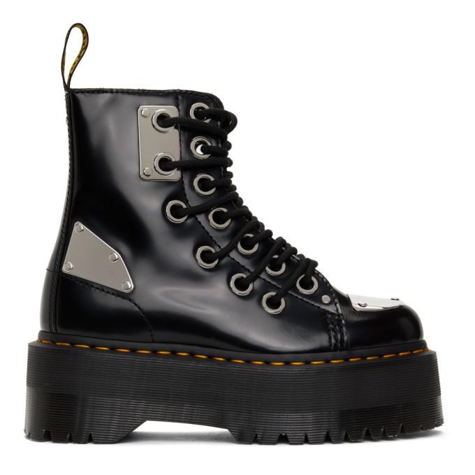 Photo: Dr. Martens Black Jadon Max Rebel Boots