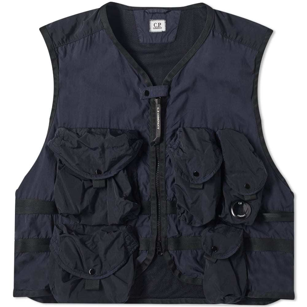 Photo: C.P. Company Multi Pocket Nylon Tactical Vest