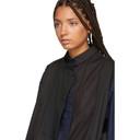 Sacai Black Panelled Shirt