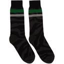 Sacai Black Zebra Socks