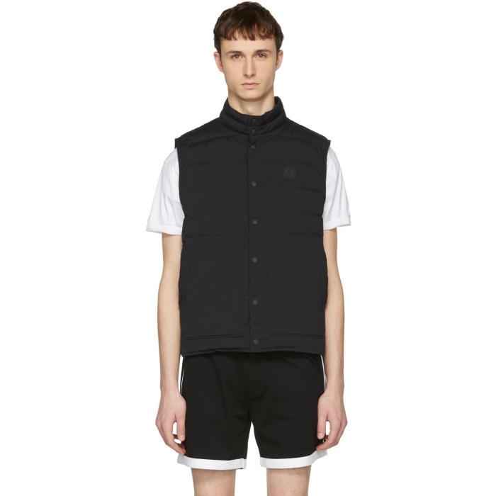 Photo: Moncler Black Down Merak Vest