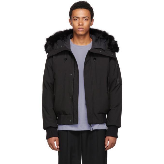 Photo: Kenzo Black Hooded Winter Down Jacket
