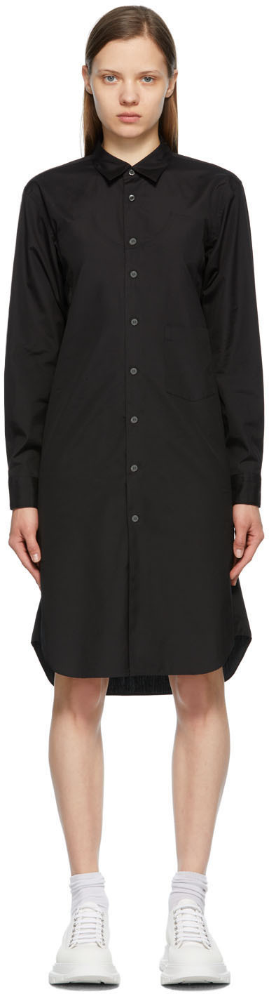 Photo: Comme des Garçons Homme Plus Black Panel Dress