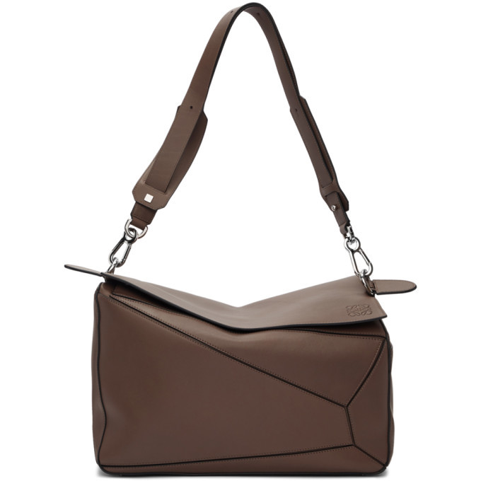 Photo: Loewe Taupe Mackintosh XL Puzzle Bag