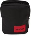 Hugo Black Logo Ethon Zip Bag