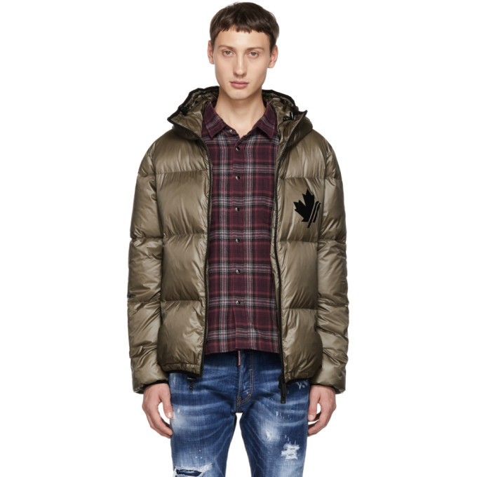 Photo: Dsquared2 Grey Puffer Jacket