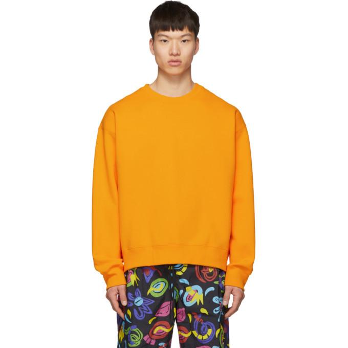 Photo: Nike Orange NRG Crew Sweatshirt